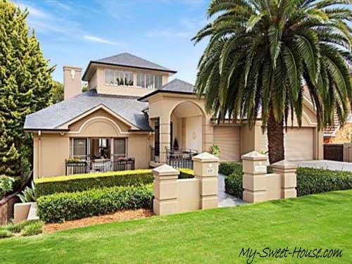 sweet home facade