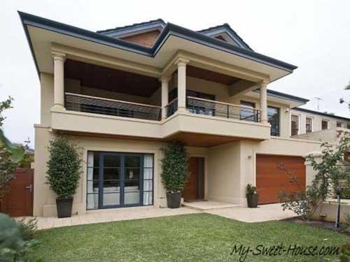 sweet home facade design