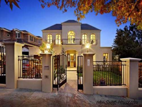 sweet home facades