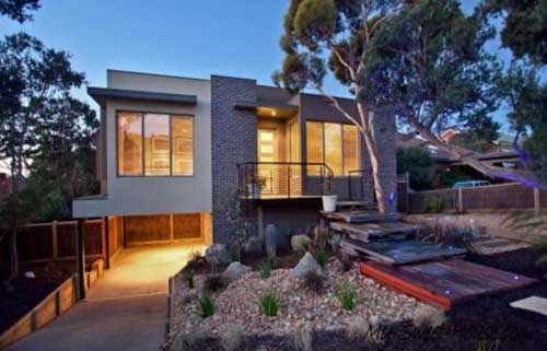 sweet house facade design
