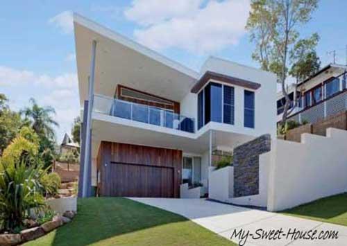 sweet house facades