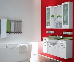 Red Color In the Bathroom Interior Design