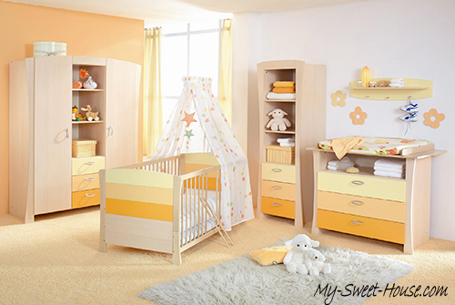 Baby girls bedrooms
