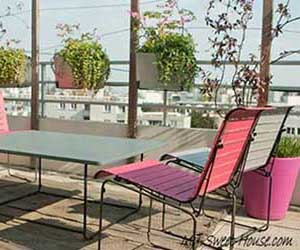 Top Compelling Terrace Design Ideas for Dynamic and Free Apartments