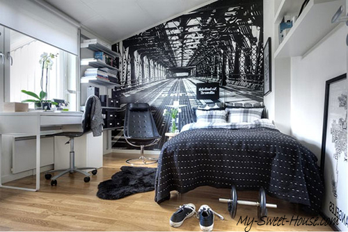 beautifull design idea for bedroom