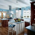 How to make a blue kitchen