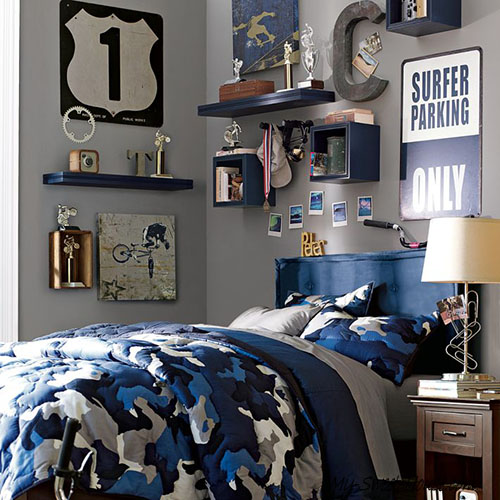 boy room decoration