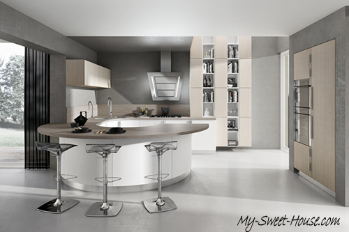 circular kitchen design ideas