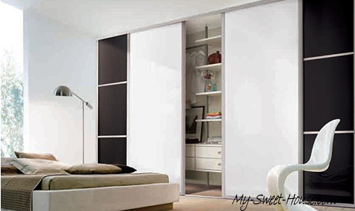 coloured glass wardrobe doors