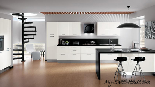 contemporary kitchen design idea
