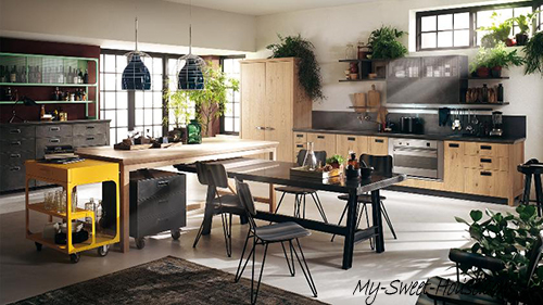 contemporary kitchen idea