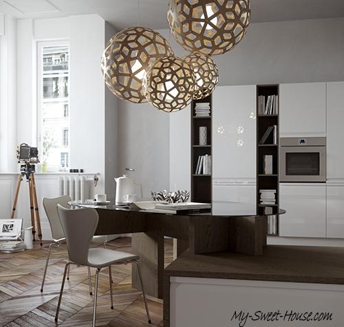 contemporary kitchen model
