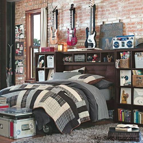 cool musician boys room