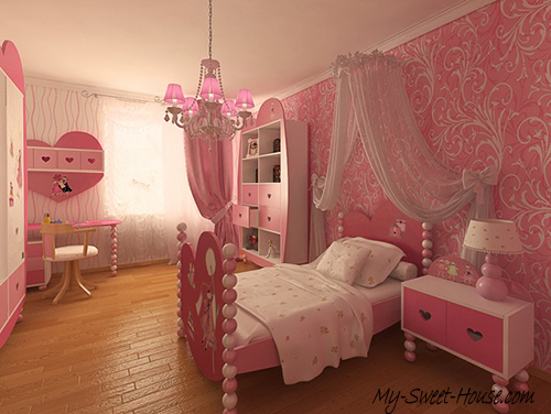 cute girl's rooms decor