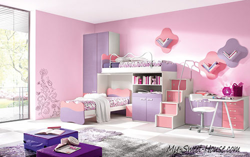 cure girl's rooms design