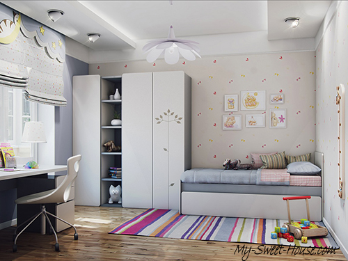 cute girl's rooms ideas