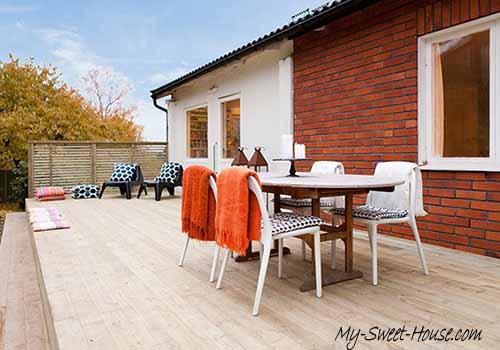 deck terrace design idea