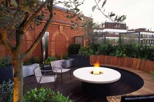 design ideas for roof terrace