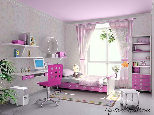 dream bedroms for girls