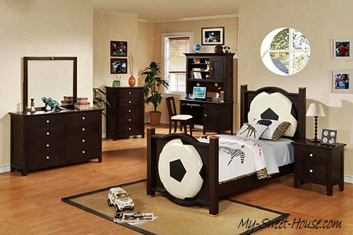 football boy room decor