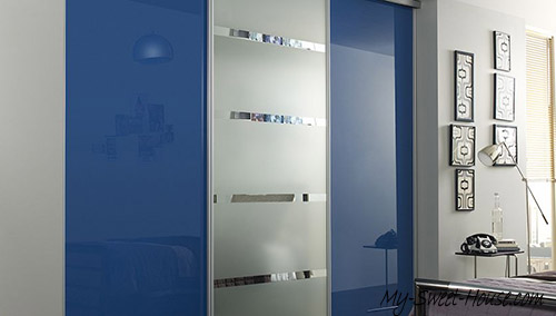 frosted glass wardrobe doors