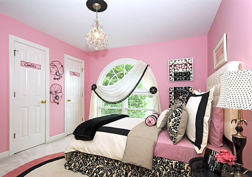 girls design decor for bedrooms