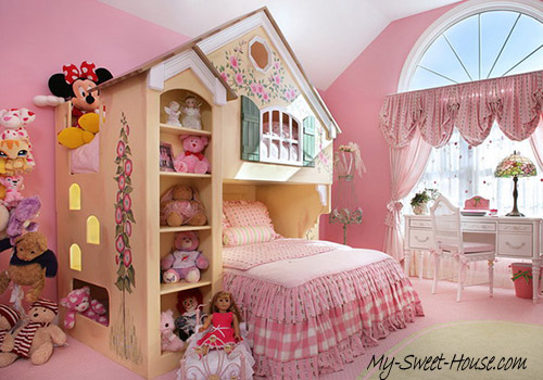 girls design ideas for bedroom decor