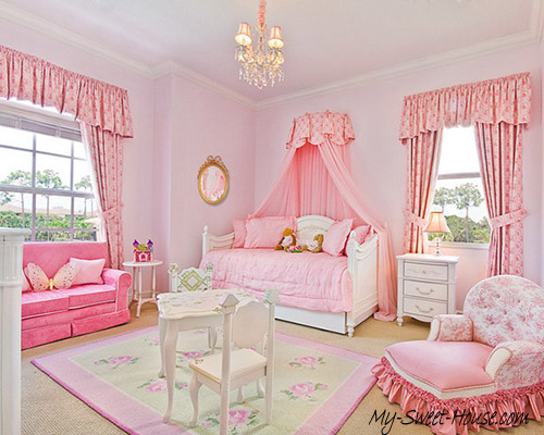 girls design ideas for bedroom