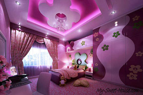 girls design ideas for bedrooms