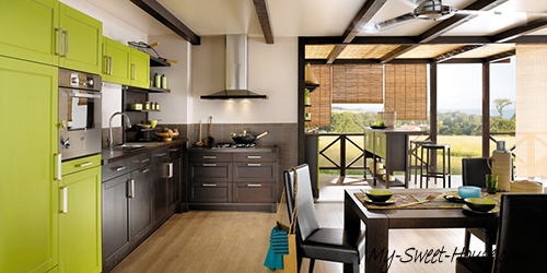 green kitchen design inspiration