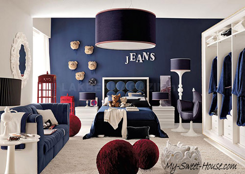 jeans boy room decor