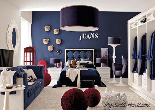 jeans boy room decor