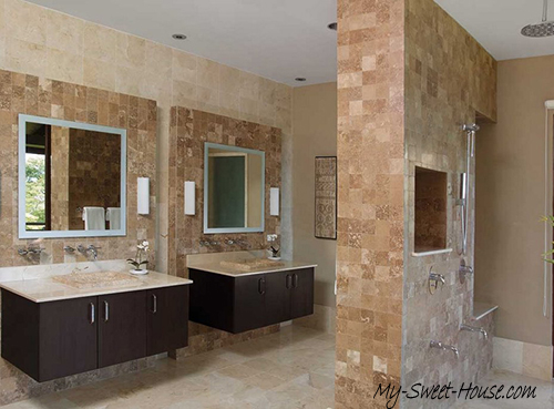 luxury bathroom tile design