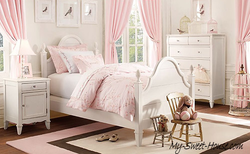 luxury girls bedrooms ideas