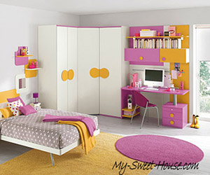 modern bedrooms decor for girls