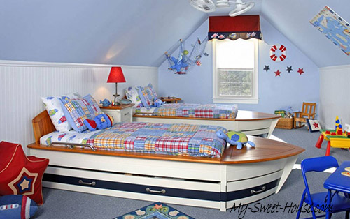 modern bedrooms design for boys