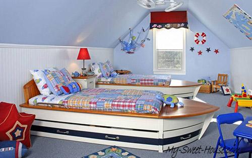 modern bedrooms design for boys