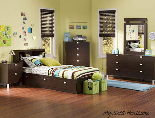 modern bedrooms for boys