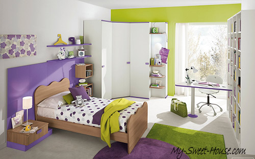 modern bedrooms for girls