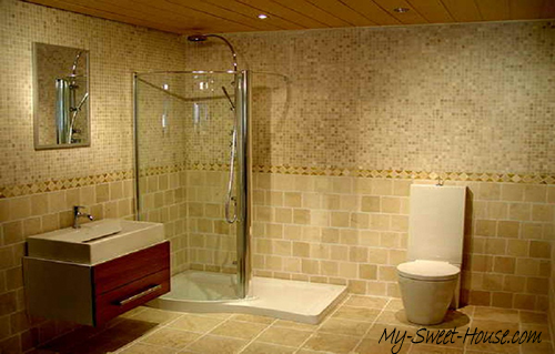 modern tile bathroom decor ideas
