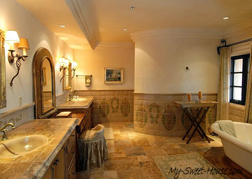 High-End Tile Bathroom Designs For a Fresh New Look - My ...