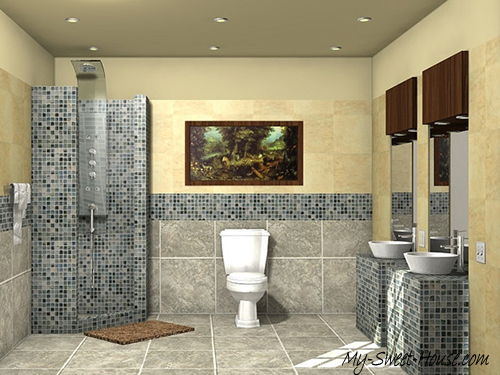 modern tile bathroom ideas