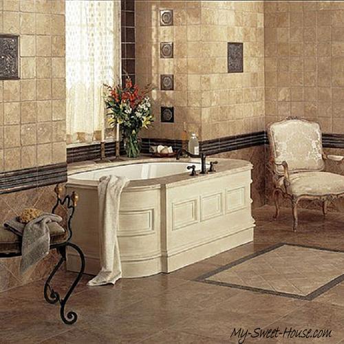 modern tile bathroom inspiration