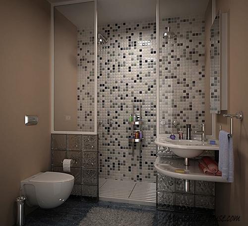 modern tile bathrooms