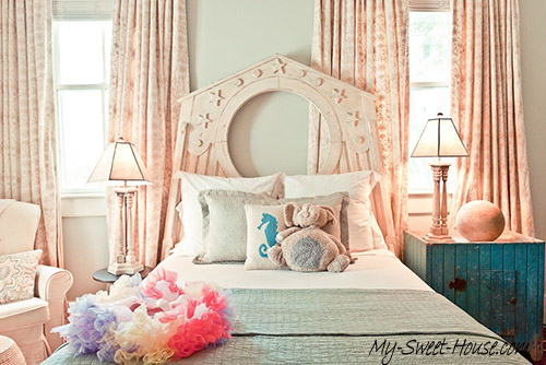 ocean girl's bedroom design
