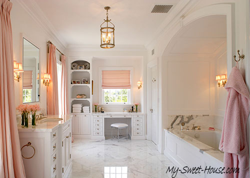 pink perfect bathroom design