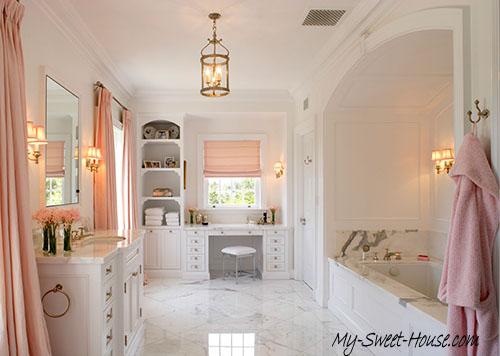 pink perfect bathroom design
