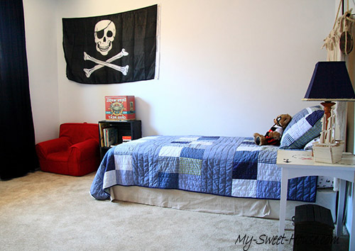 pirate boy room decor