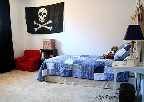 pirate boy room decor