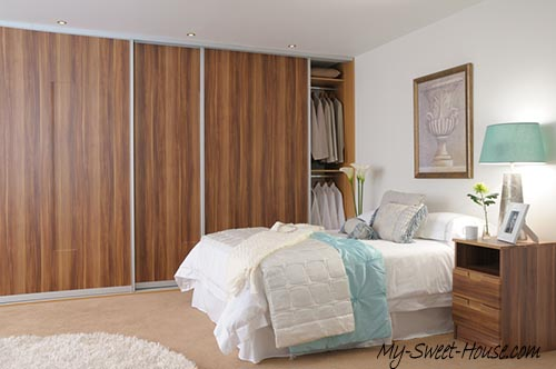 plum wardrobe doors